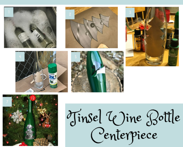tinsel wine bottle centerpiece.png